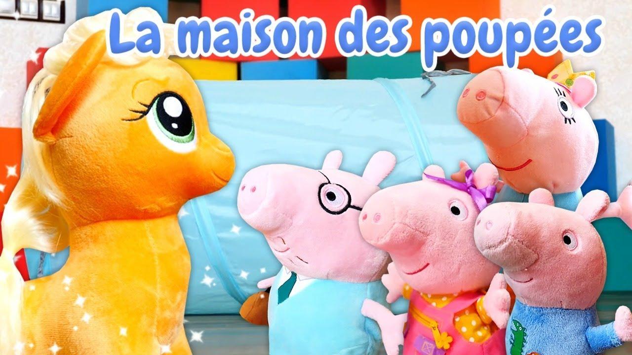 super popular 95e8d f7e1a Vidéo en français pour enfants de Peppa Pig : un tunnel magique