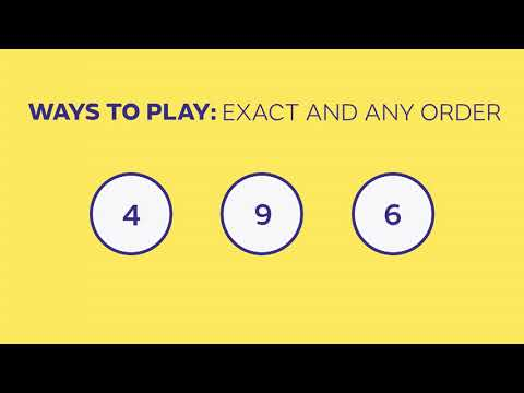 How to Play Pick 3 - Colorado Lottery