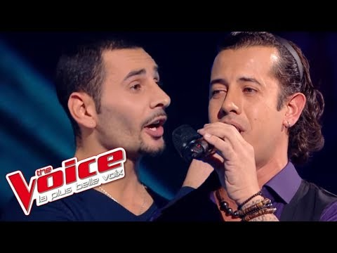The Voice 2014│Teiva VS Jérémy Bertini - Vivo per lei Andrea (Bocelli)│ Battle