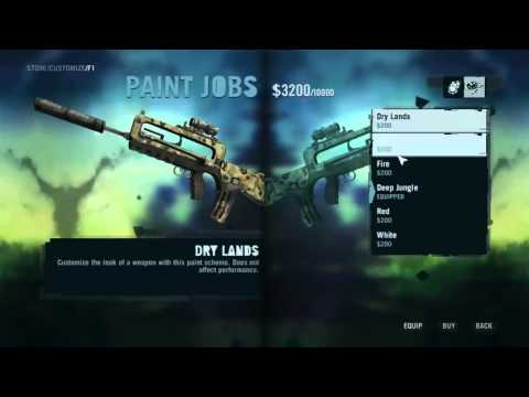how to change weapons in far cry 3 ps3