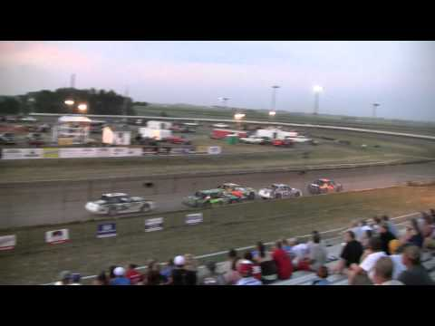 0717-12 Stock Car Feature @ Sioux Speedway 2