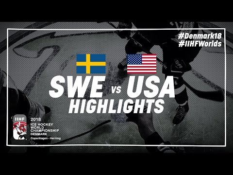 Game Highlights: Sweden vs USA | #IIHFWorlds 2018