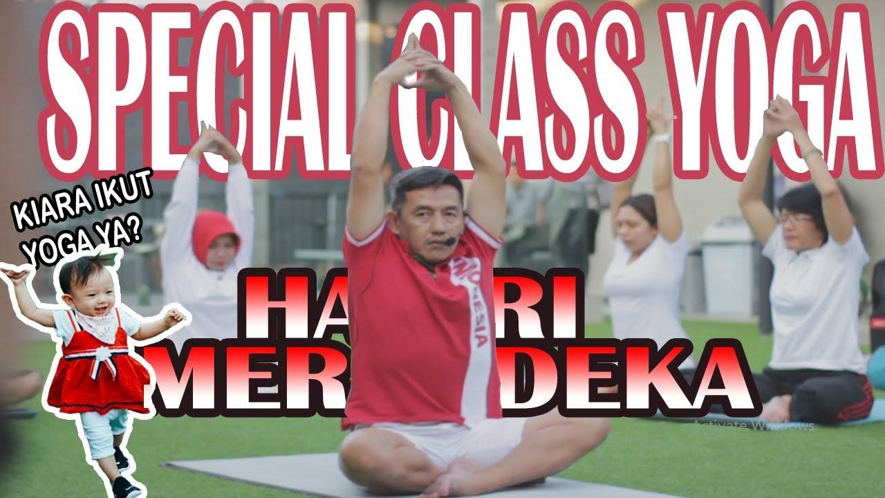 Special Class Yoga Hari Kemerdekaan Di Oura Malang Bersama Samei N Fank Youtube