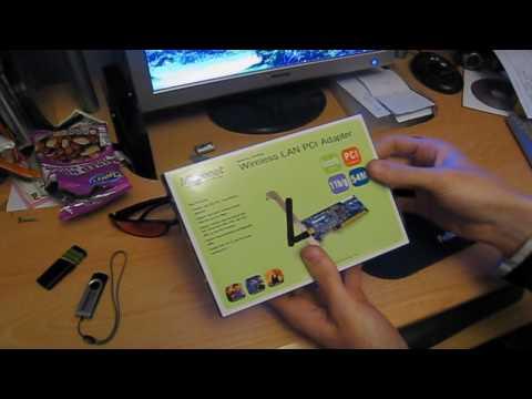 ebay sales video, item #3  Micronet SP906GK 802.11 B/G wireless card
