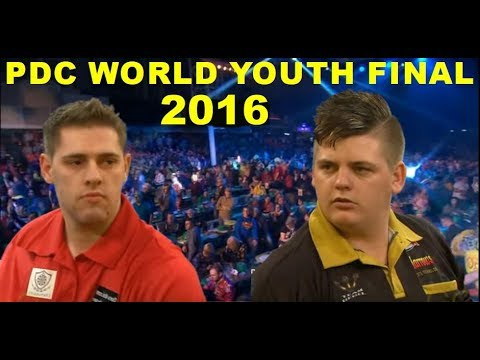 Berry van Peer v Corey Cadby [HD] PDC World Youth Championship Final 2016