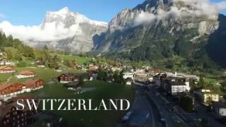 Switzerland Drone Footage