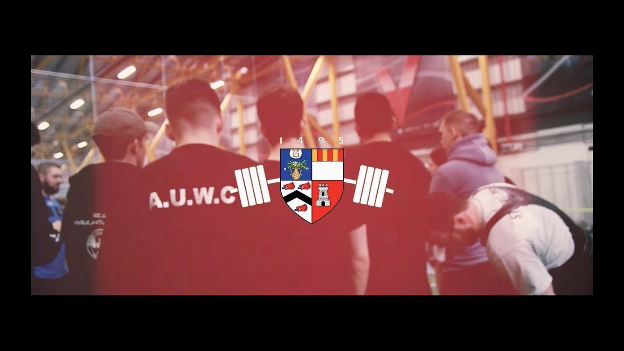 ebd9f432f063 Aberdeen University Weightlifting Promotional Video 2017 2018 - YouTube