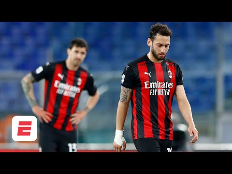 AC Milan IN TROUBLE! Could Zlatan Ibrahimovic and co. miss out on top 4 in Serie A? | ESPN FC