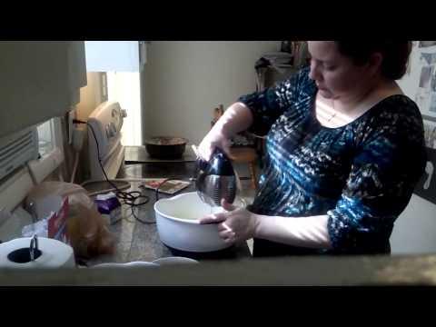 Almond creme poundcake