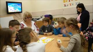 Открытый урок английского языка в школе раннего развития