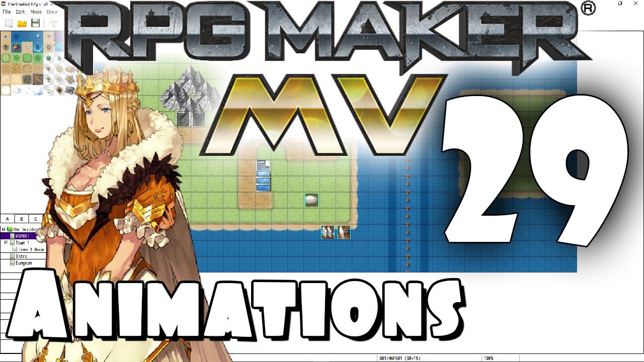 RPG Maker MV Tutorial #29 - Animations