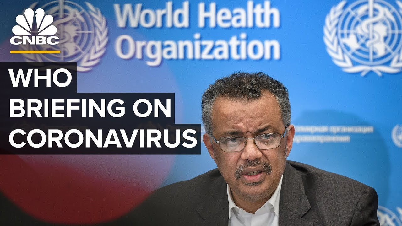 WATCH LIVE: World Health Organization holds a news conference on the coronavirus outbreak – 2/21/20