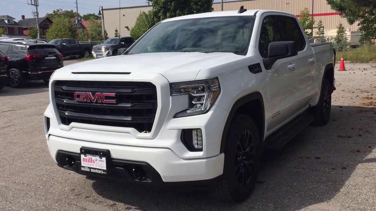 2020 Gmc Sierra 1500 4wd Crew Cab Elevation Power Tailgate Heated