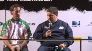 Conferencia de prensa previa Rally de la Argentina
