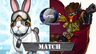 Macro Rabbit vs GaGaGa Tournament Final