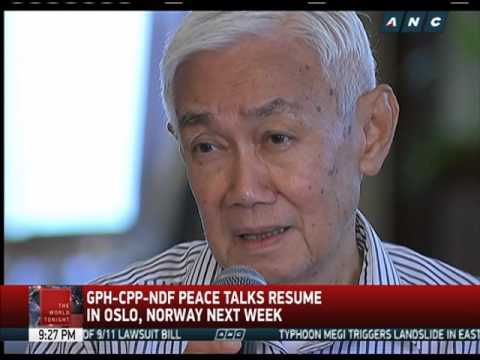 Peace talks with Reds to resume in Oslo next week