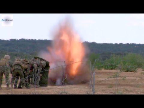 Marines Test Blast Shield Against C-4 Explosives