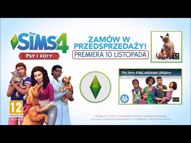 The Sims 4 Psy i Koty zwiastun. Czy tam s? konie!