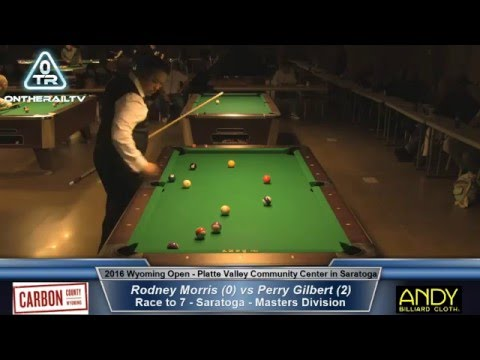 Rodney Morris vs Perry Gilbert - 2016 Wyoming Open Saratoga