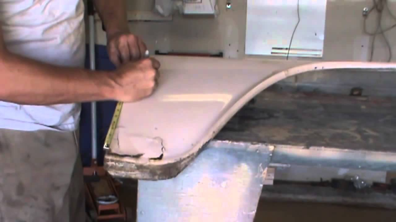 1960 66 Chevy Truck Front Fender Rust Repair Part 1