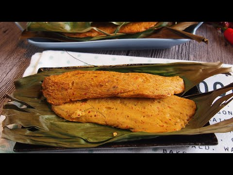 SUPER EASY Otah (Otak Otak) 乌达 Singapore Street Food & Nyonya Recipe