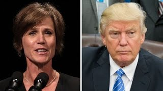 Trump fires acting AG over travel ban
