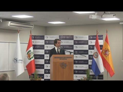 Aznar defiende una intervención en Venezuela