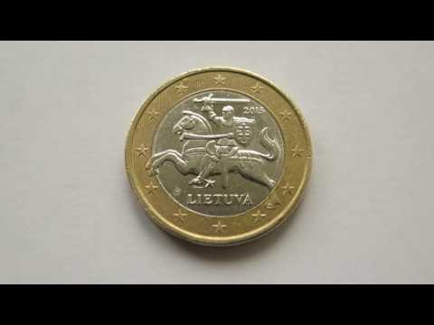 1 Euro Coin :: Lithuania 2015