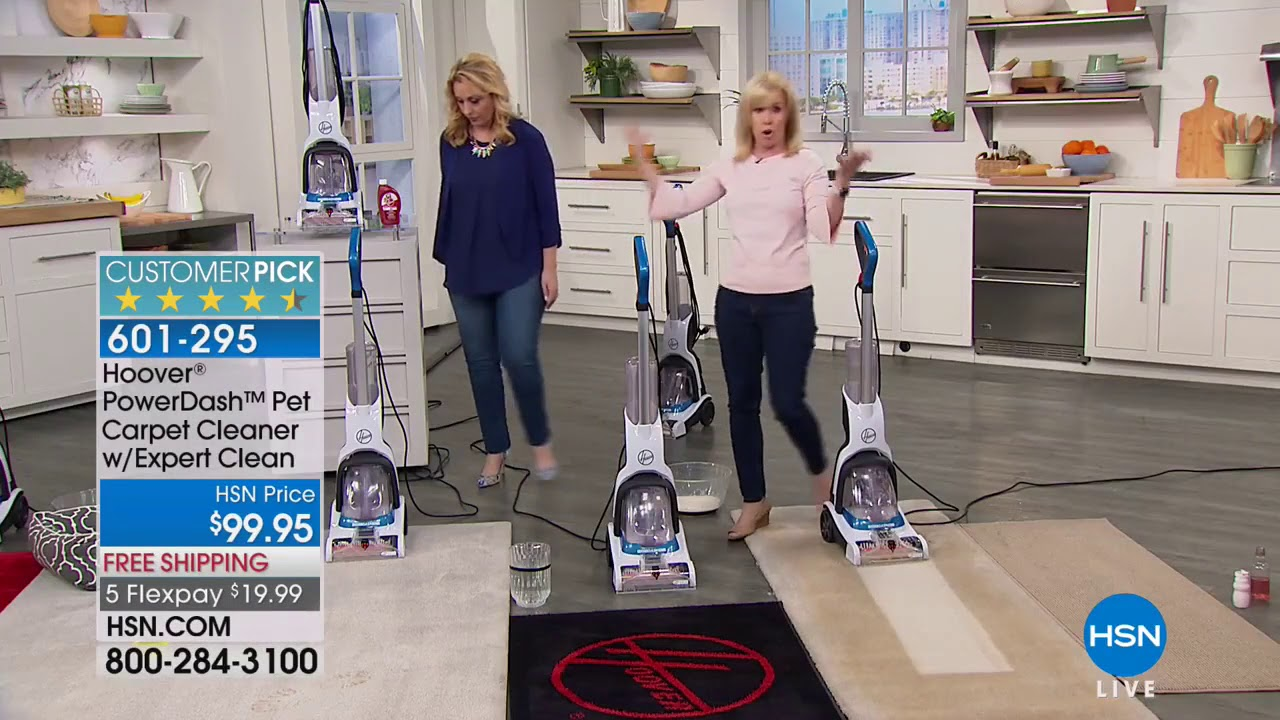 Hoover Powerdash Pet Carpet Cleaner With Expert Clean So Youtube