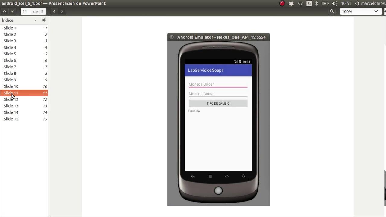 Consumir un servicio web soap desde Android Studio