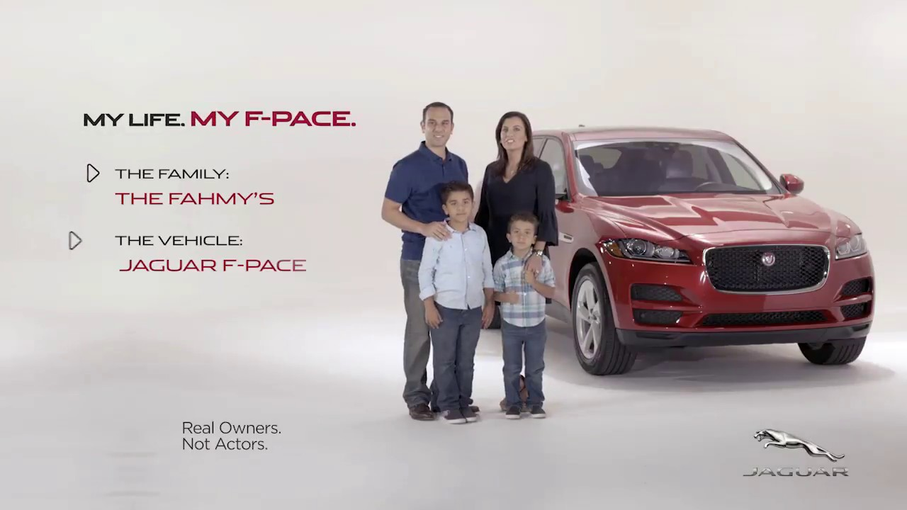 My Life, My F PACE The Fahmy Family   Jaguar Palm Beach