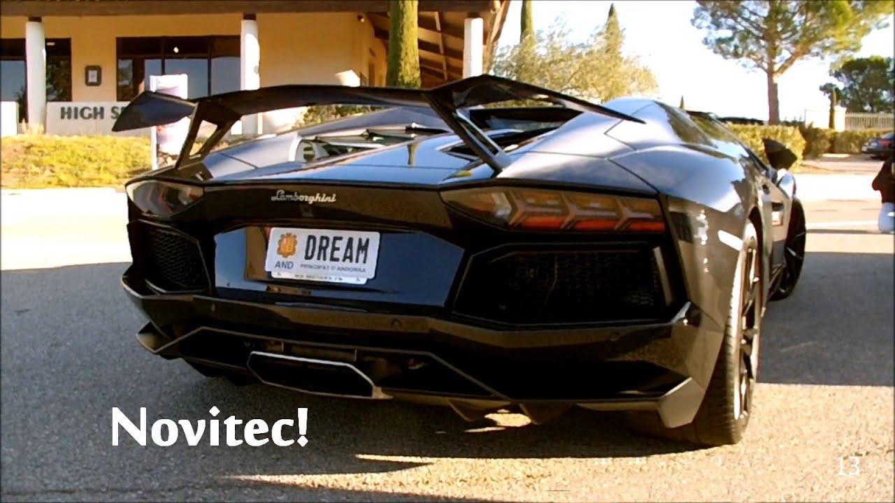 Lamborghini aventador wing