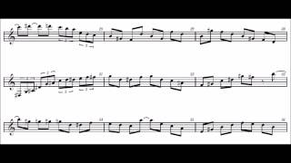 sing sing sing solo  ver. 0630 clarinet シングシングシング