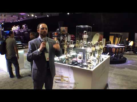 2014 Winter NAMM Yamaha Xeno Trumpets