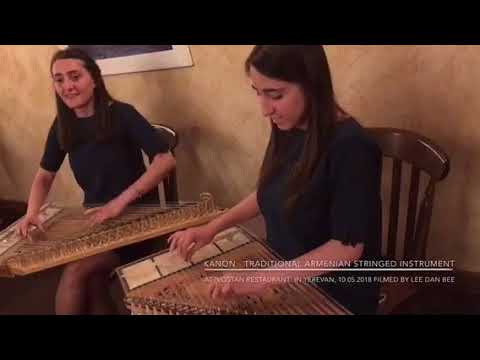 Kanon 'Hit The Road Jack' - Armenian Traditional Stringed Instrument At VOSTA Restaurant In Yerevan