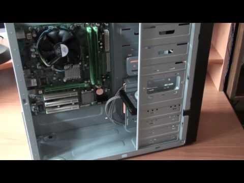 Устанавливаем жесткий диск (HDD) - Видео