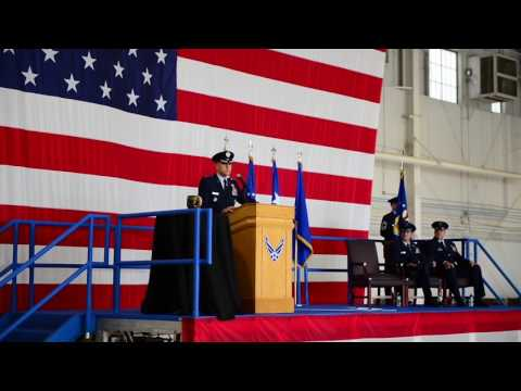 509th Bomb Wing Change of Command - Part 1, B-Roll