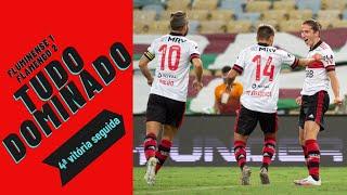 Flamengo domina o Fluminense, placar de 2 a 1 não resume o jogo e tema