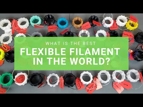 World's Largest Roundup Of Flexible 3D Printing Filaments!