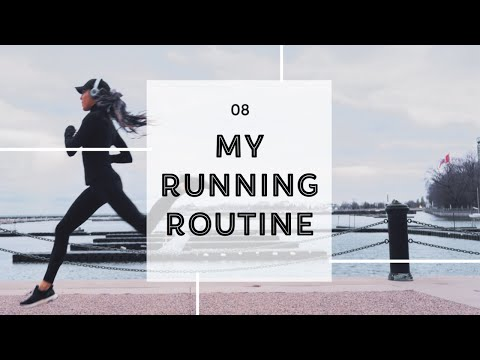 My Running Routine | STRETCHES + OOTD