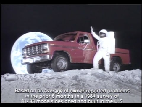 17 Great 1985 Ford Pickup Truck Commercials! (Bronco ...