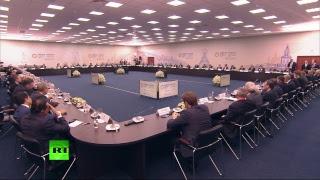 Путин Проводит Встречу С Руководителями Иностранных Компаний