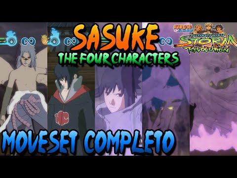 Naruto Storm Revolution: Sasuke Hebi + Taka + Five Kages Summit + ...
