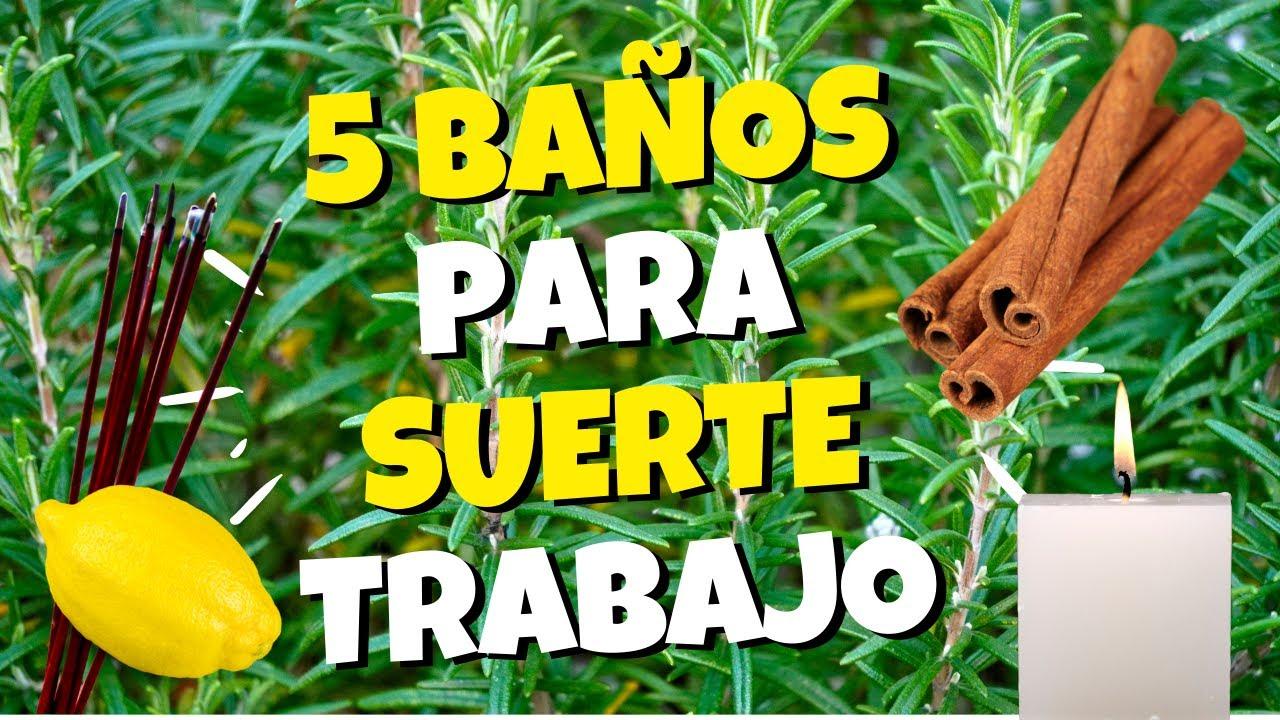 ✔️ 5 BAÑOS ESPIRITUALES de La SUERTE Para Hacer Los días Martes y Viernes 😇🙋♀️ 100% ABUNDANCIA 🤑