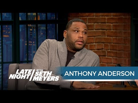 Anthony Anderson: Donald Trump Cheats at Golf - Late Night with Seth Meyers