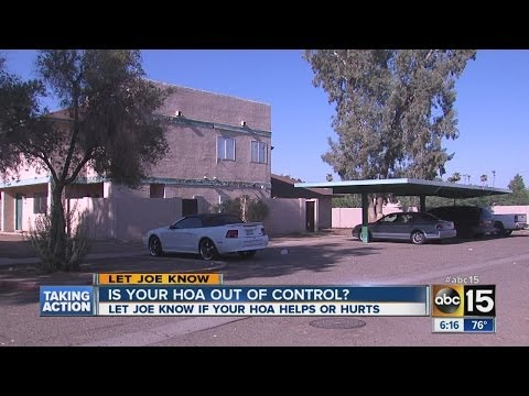 Is your homeowners association out of control