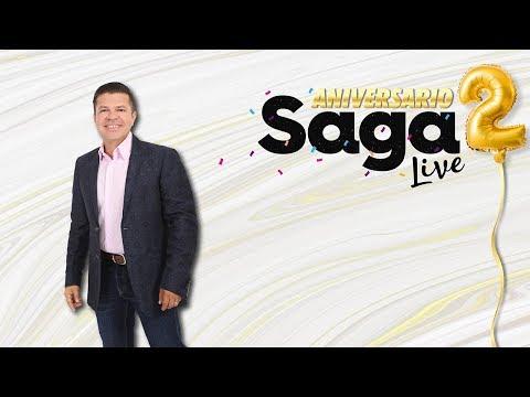 Saga2Aniversario Jorge Medina con Adela Micha