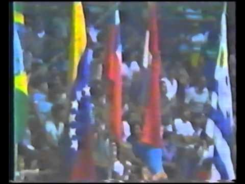Basquetbol Sudamericano Juvenil Caracas 1981 - FINAL
