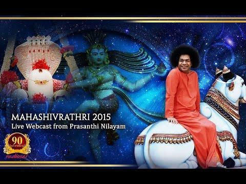 Shivaratri Celebrations (Evening Program) at Prasanthi Nilayam - 17 Feb 2015