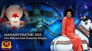 Shivaratri Celebrations (Evening Program) at Prasanthi Nilayam - 17 Feb 2015